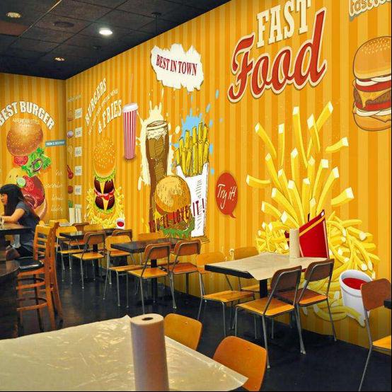 放弃过万工资,汉堡包店加盟费多少?